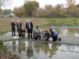 Boris visits Parish Wood