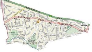Blackfen map