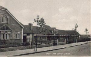 Days Lane School 1930s