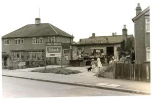 Ethel's Stores, Blackfen Road in 1966