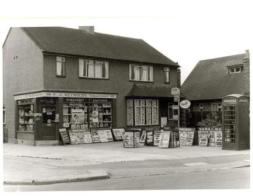 F. J. Reynolds, grocer, newsagent and Post Office, Blackfen Road in 1966
