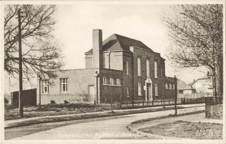 Blackfen Library, Cedar Avenue, 1950