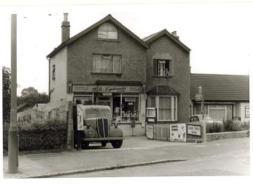 M. A. Lipscombe, grocer, Blackfen Road in1966