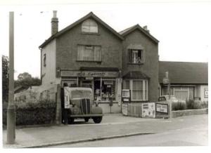 M. A. Lipscombe, grocer, Blackfen Road in1966