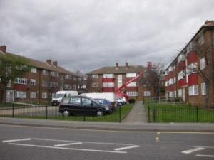 Merino Place, Blackfen Road in 2010