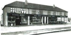 RACS Stores, Blackfen Road in 1931