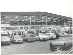 Safeway, Westwood Lane, mid 1960s