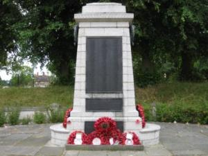 Sidcup War Memorial in 2010