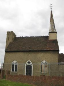 The Chapel House in 2010, now looking neglected