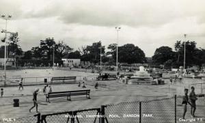 Danson Pool 1950