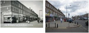 Blackfen Parade 1960s and 2010