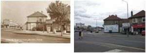 Copelands in Days Lane, 1930s and 2010