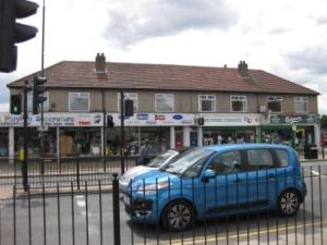 Former RACS Stores, now Katie's Playpen, Browne's Chemist and Blackfen Off-licence (2010)