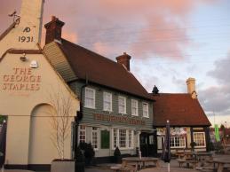 George Staples pub, 2010