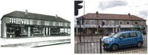 RACS Stores 1931; now Katie's Playpen, Browne's Chemist and Blackfen Off-licence, 2010
