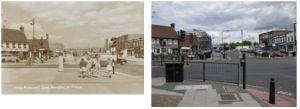 Westwood Lane, 1954 and 2010