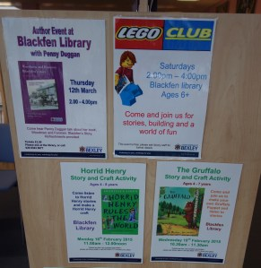 Library events Feb. 2015
