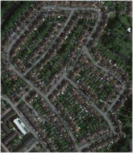 Estate built by Leech in Carshalton/Wallington. Recognise the street names?