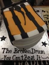The Broken Drum First Anniversary Cake