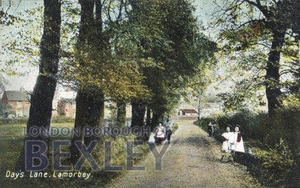 Days Lane c1900, looking towards Blackfen