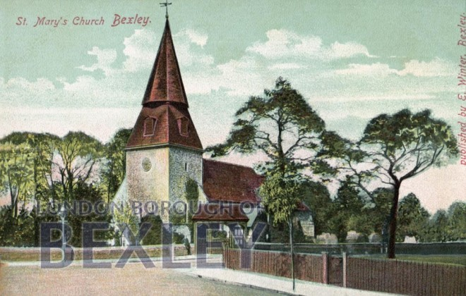 St Mary's Church Bexley 1910
