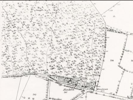 Blackfen 1860 map