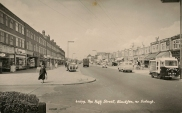 Postcard - Blackfen High Street
