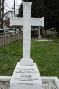 William Willett grave